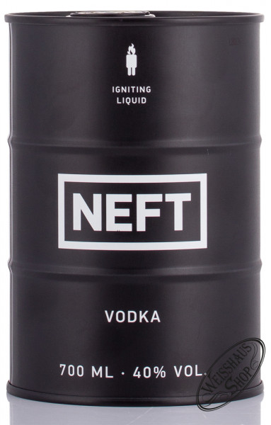 Neft Black Barrel Vodka 40% vol. 0,70l