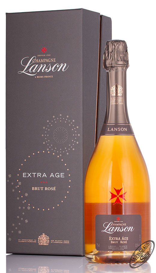 Lanson Extra Age Rose Champagner 12,5% vol. 0,75l