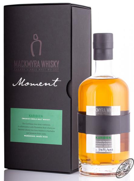 Mackmyra Moment Karibien Swedish Whisky 44,4% vol. 0,70l