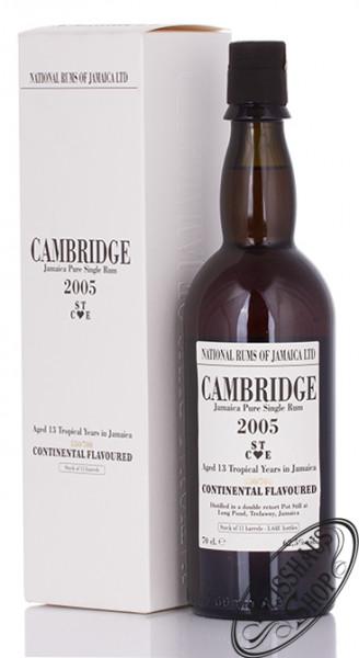 Cambridge 2005/2018 13 YO Jamaica Rum 62,5% vol. 0,70l