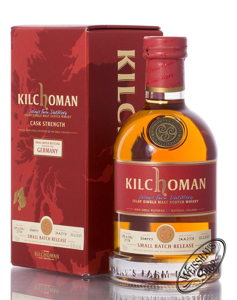 Kilchoman Small Batch for Germany Islay Whisky 56,6% vol. 0,70l