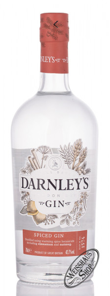 Darnley's View Spiced Gin 42,7% vol. 0,70l