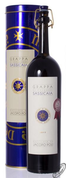 Poli Grappa Barili di Sassicaia 40% vol. 0,50l