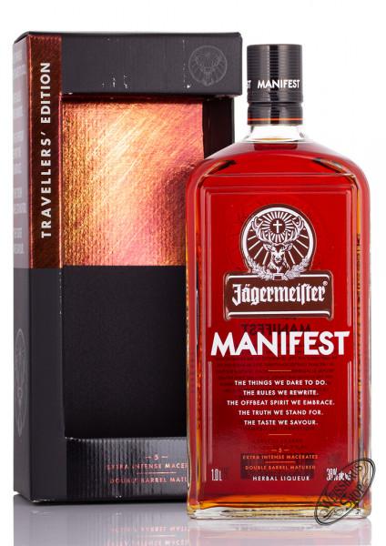 Jägermeister Manifest 38% vol. 1,0l