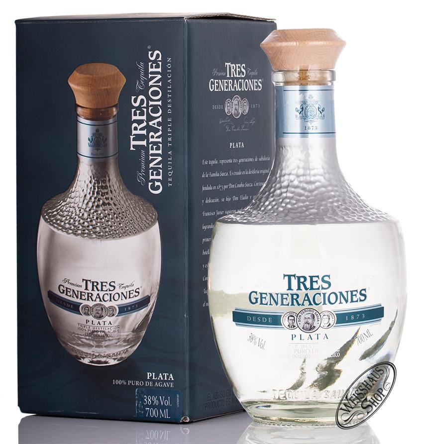 Sauza Tres Generaciones Tequila Plata 38% vol. 0,70l