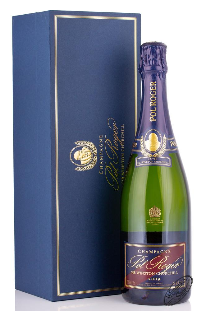 Pol Roger Cuv�e Sir Winston Churchill Vintage 2009 Champagner 12,5% vol. 0,75l
