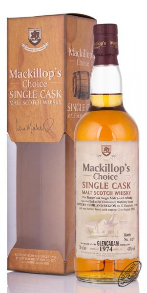 Glencadam Vintage 1974/2006 Mackillop's Choice Whisky 43% vol. 0,70l