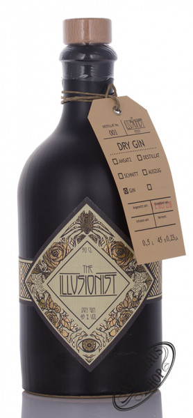The Illusionist Dry Gin 45% vol. 0,50l