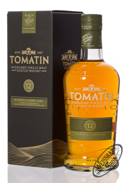 Tomatin 12 YO Highland Single Malt Whisky 43% vol. 0,70l