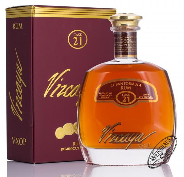 Vizcaya VXOP Rum 40% vol. 0,70l