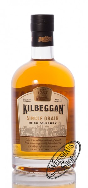 Kilbeggan Single Grain Whiskey 43% vol. 0,70