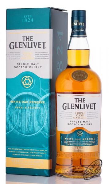 The Glenlivet Triple Cask Matured White Oak Whisky 40% vol. 1,0l