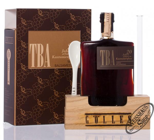 Gölles TBA Wein Balsam Essig im Kastanienfass 0,10l