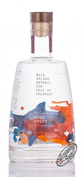 Wild Island High Croft Gin 43,4% vol. 0,70l