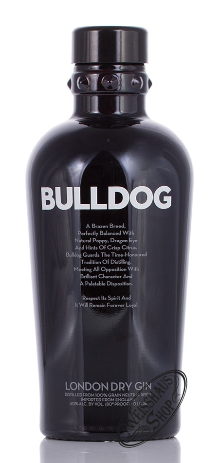 Bulldog Gin 40% vol. 1,0l