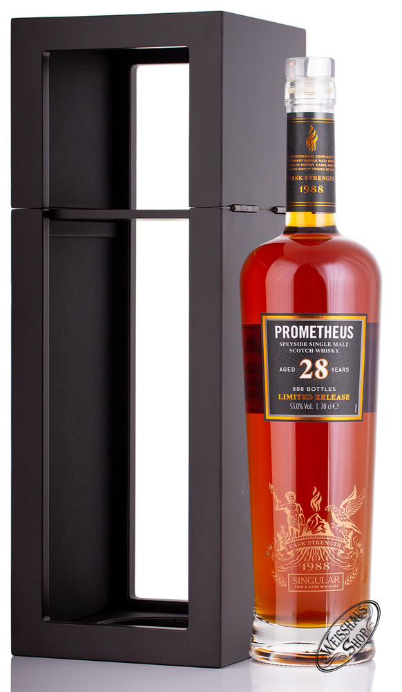 Glasgow Distillery Co. Prometheus 28 YO Whisky 53% vol. 0,70l