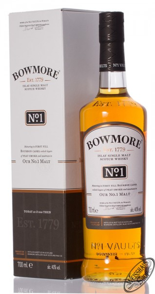 Bowmore No.1 Single Malt Whisky 40% vol. 0,70l