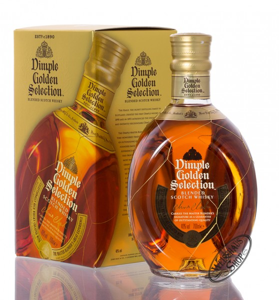 Dimple Golden Selection Blended Scotch Whisky 40% vol. 0,70l