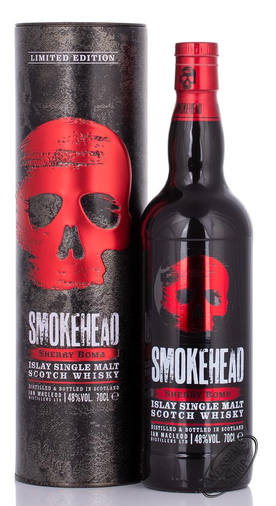 Smokehead Sherry Bomb Islay Single Malt Whisky 48% vol. 0,70l
