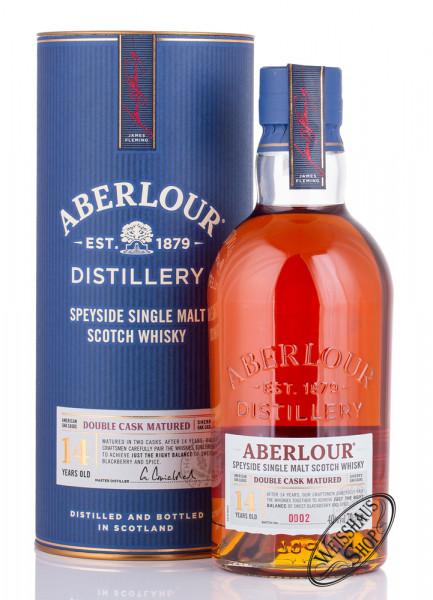 Aberlour 14 YO Double Cask Whisky 40% vol. 0,70l