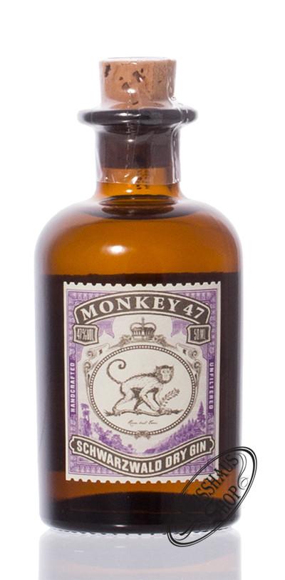 Monkey 47 Dry Gin 47% vol. 0,05l Miniatur