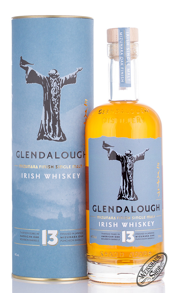 Glendalough 13 YO Irish Single Malt Whiskey 46% vol. 0,70l
