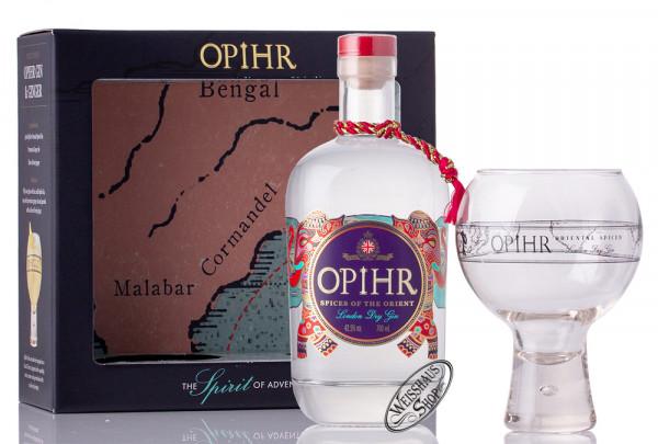 Opihr Oriental Spiced London Dry Gin Geschenk-Set 42,5% vol. 0,70l