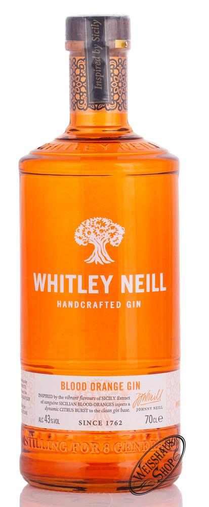 Whitley Neill Blood Orange Gin 43% vol. 0,70l