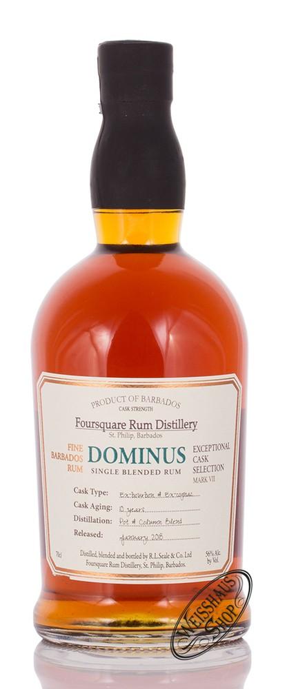 Foursquare Distillery Foursquare Dominus 10 YO Rum 56% vol. 0,70l