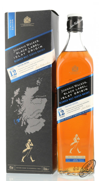 Johnnie Walker Black Origins Islay Whisky 42% vol. 0,70l