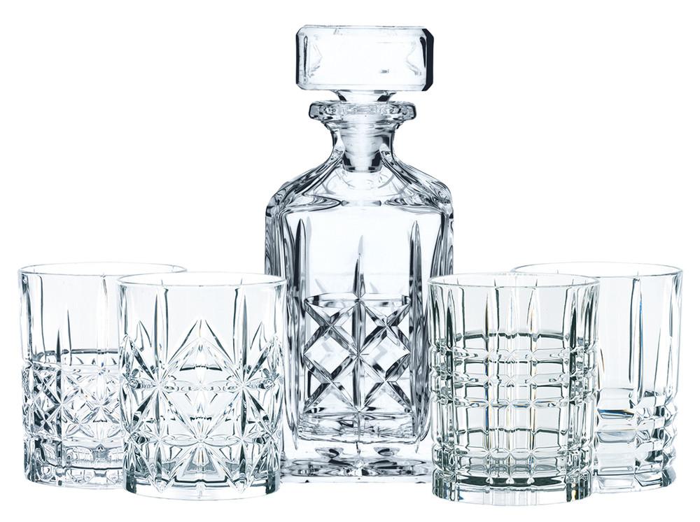 Nachtmann Highland Whisky Set 4 Gl�ser 1 Karaffe