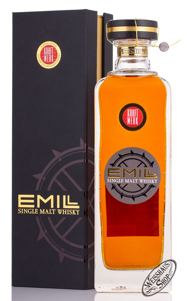 Scheibel Emill Kraftwerk Single Malt Whisky 58,7% vol. 0,70l