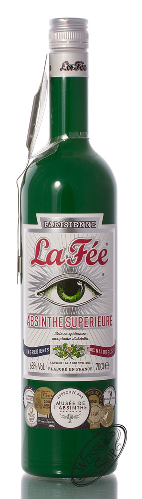 La Fee Parisienne Absinth mit L�ffel 68% vol. 0,70l