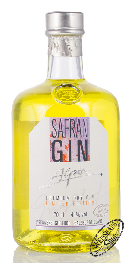 Brennerei Guglhof Guglhof Safran Dry Gin 41% vol. 0,70l
