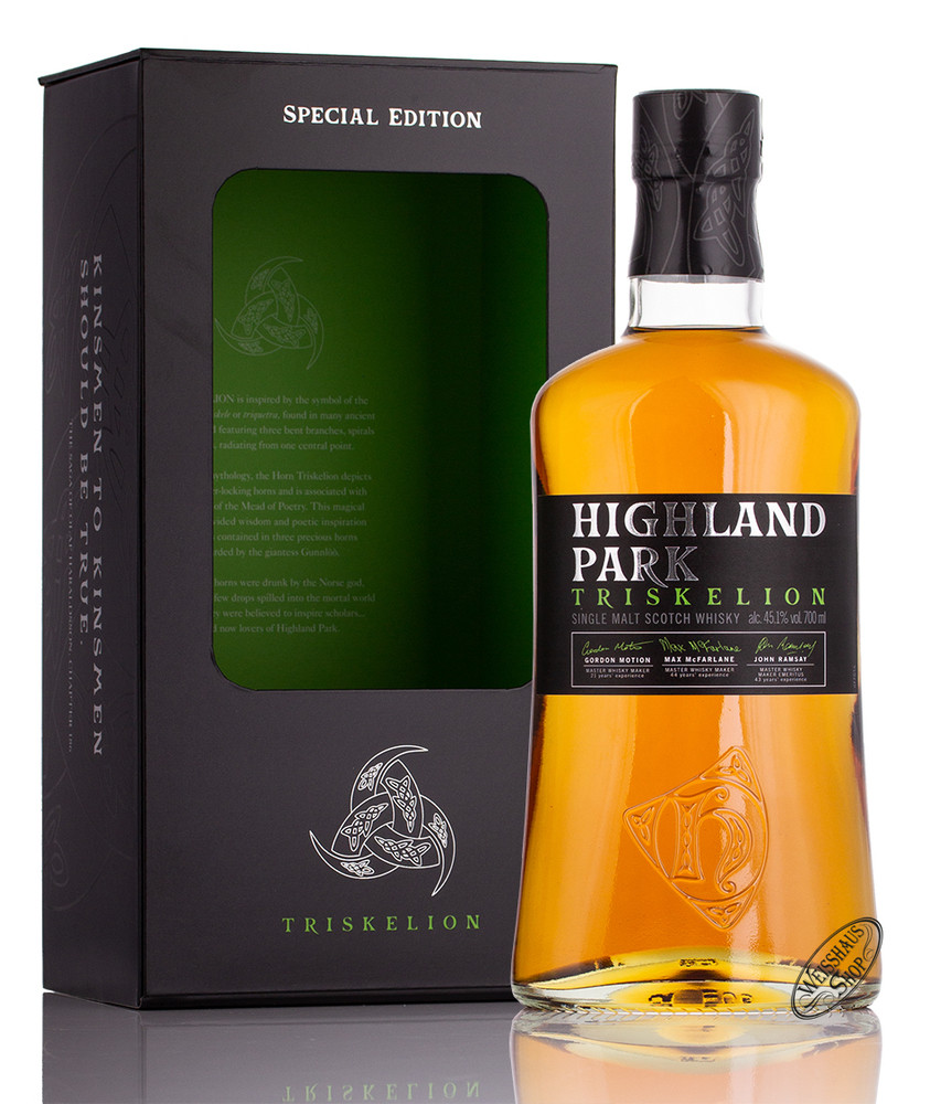 Highland Park Triskelion Whisky 45,1% vol. 0,70l
