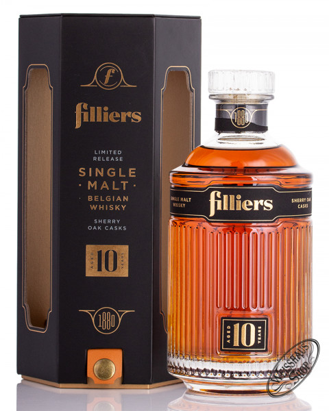 Filliers 10 YO Sherry Casks Whisky 43% vol. 0,70l