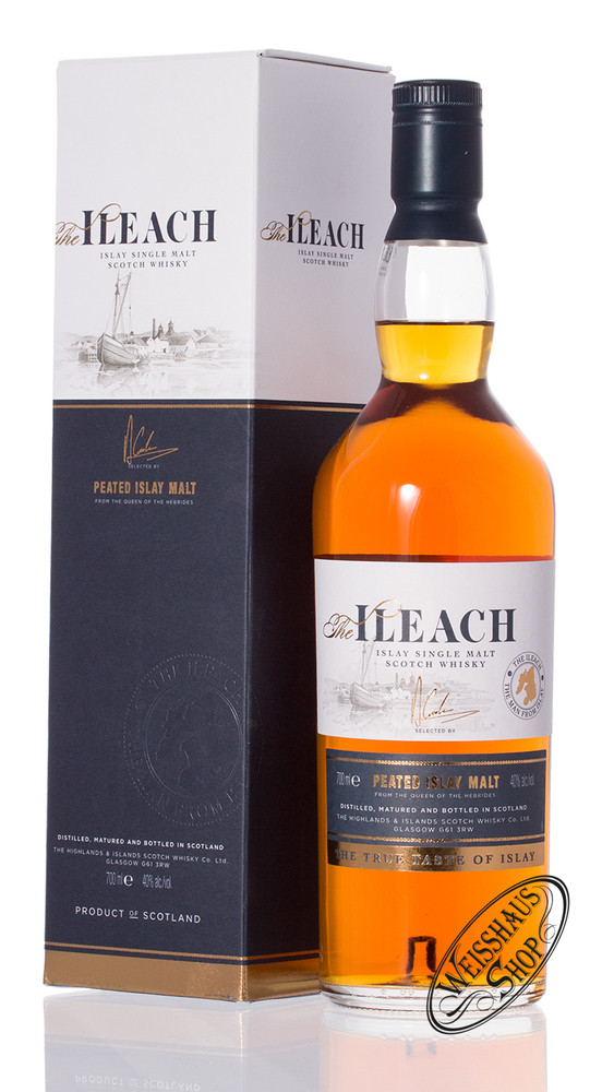 The Ileach Islay Single Malt Whisky 40% vol. 0,70l