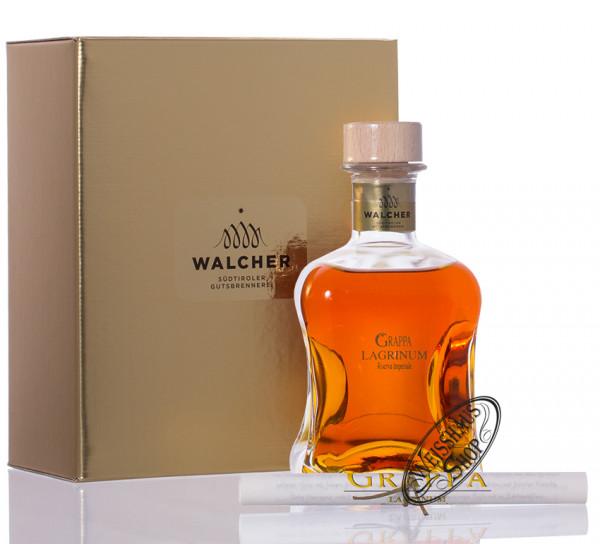 Walcher Grappa Lagrinum Riserva Imperiale 40% vol. 0,50l