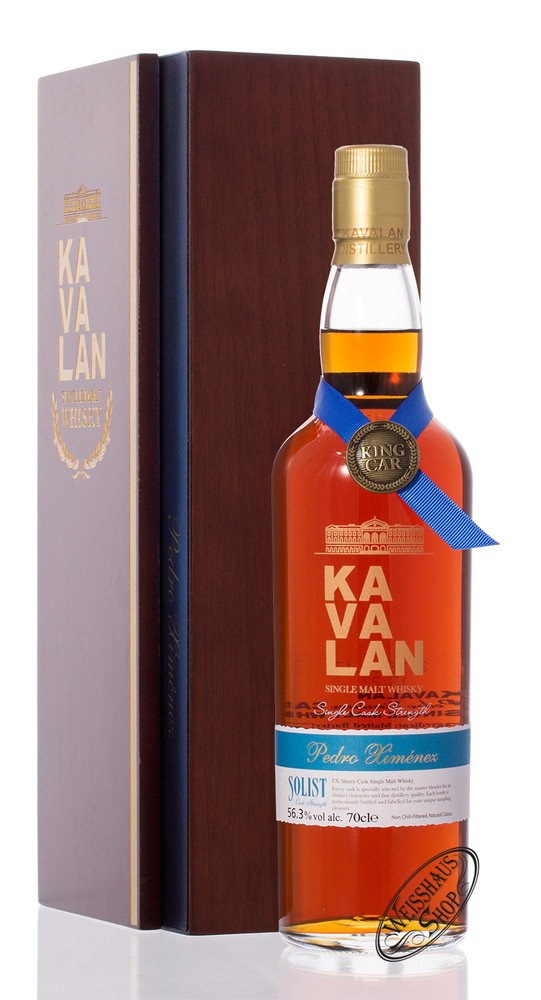 Kavalan Solist PX Sherry Whisky 56,3% vol. 0,70l