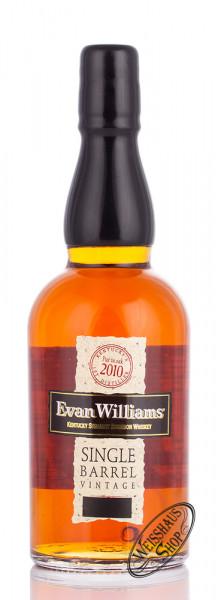 Evan Williams Single Barrel Bourbon Whiskey 43,30% vol. 0,70l