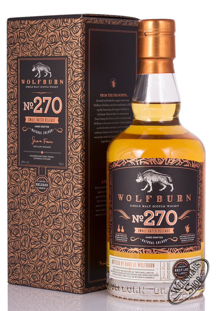 Wolfburn Batch 270 Whisky 46% vol. 0,70l