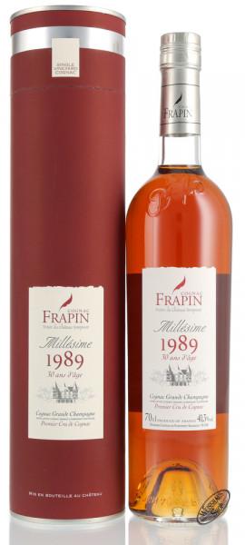 Frapin Millesime 1989 30 YO Cognac 40,3% vol. 0,70l