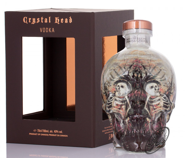 Crystal Head Vodka Artist Series 40% vol. 0,70l