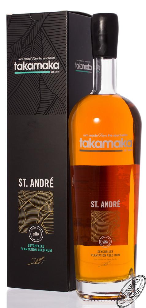 Takamaka Bay St. Andr� Rum 8 YO 40% vol. 1,0l