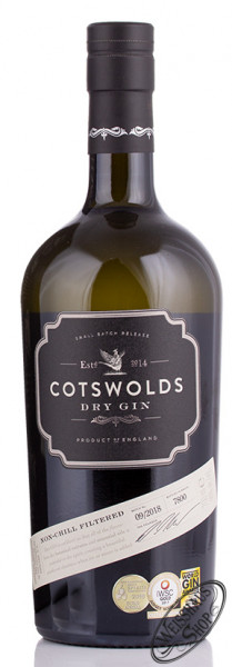 Cotswolds Dry Gin 46% vol. 0,70l