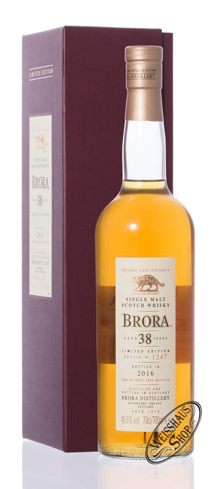 Brora 38 YO SR 2016 Whisky 48,6% vol. 0,70l