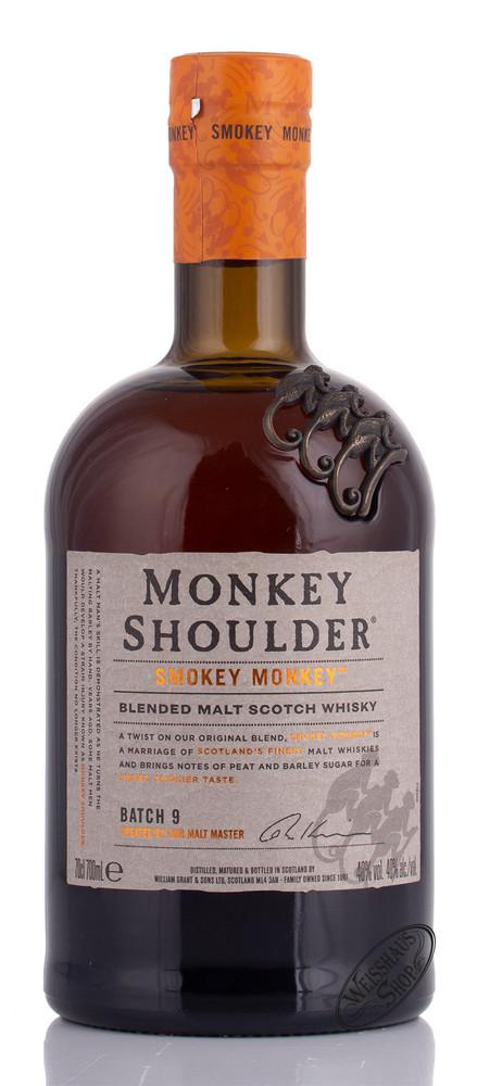 Monkey Shoulder Smokey Monkey Whisky 40% vol. 0,70l