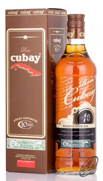 Ron Cubay 10 YO Reserva Especial 40% vol. 0,70l