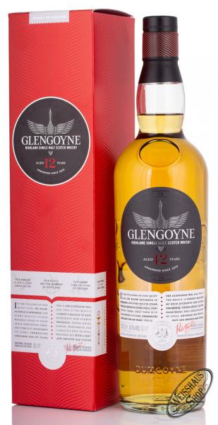 Glengoyne 12 YO Single Malt Whisky 43% vol. 0,70l