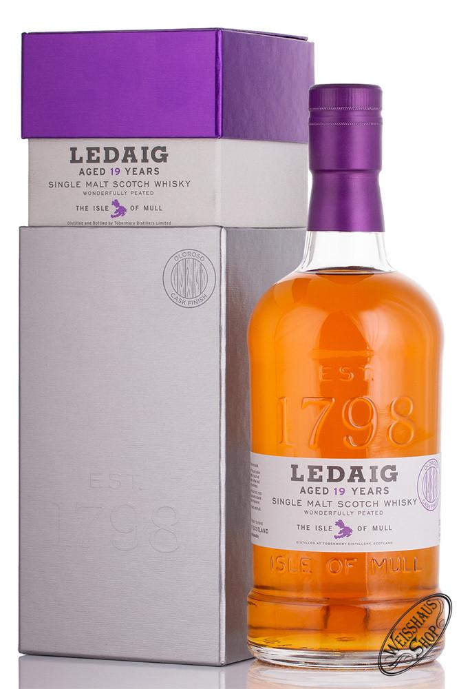 Tobermory Ledaig 19 YO Oloroso Cask Finish Whisky 46,3% vol. 0,70l